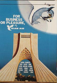 Iran Air Business or Pleasure Poster