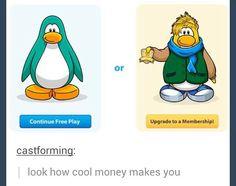 Club penguin logic