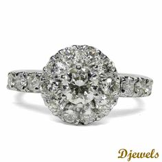 <p><strong>Rosalind Engagement  Ring in Hallmarked. </strong></p><br /><p><strong> Solitaire Weight - 0.52 Ct </strong></p><br /><p><strong>Solitaire Color - I </strong></p><br /><p><strong> Solitaire Clarity - VS</strong></p><br /><p>See more Engagement Rings from our 10,000+ Stunning Diamond Jewellery Designs</p> [Rs    127,557]