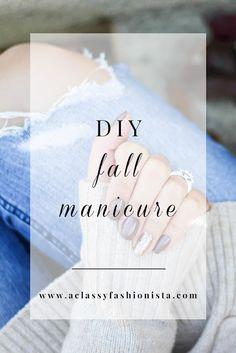 CREAM MOCK TURTLENECK + DIY FALL MANICURE - A Classy Fashionista // #SallyHansen #InstaDri Complimentary of Influenster!