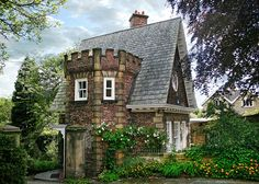 The Lodge, Ryton, by Neil Aiston  Would make an awesome studio!
