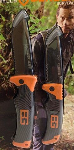 Gerber Bear Grylls Series Scout Folding Clip Knife and Folding Sheath Knife >>> To view further for this item, visit the image link.