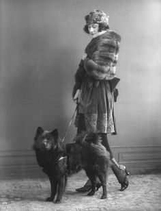 Odette Myrtil by Bassano, 1920