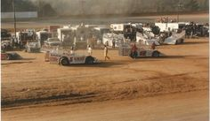 Vintage dirt wedge late models at Wythe raceway VA