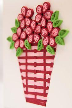Floral birthday cards DIY