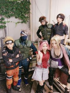 This picture makes me so happy! Naruto Cosplay, Anime Cosplay, Epic Cosplay, Amazing Cosplay, Cosplay Outfits, Cosplay Girls, Anime Naruto, Kurama Naruto, Naruto Art