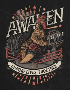 Awaken Rooster by Nathan Yoder