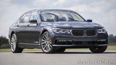 Седан BMW 7-серии / БМВ 7-серия – вид спереди сбоку