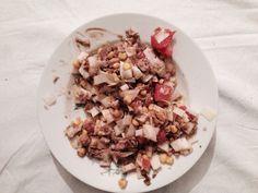 Salade (endives / thon / maïs / noix / pamplemousse
