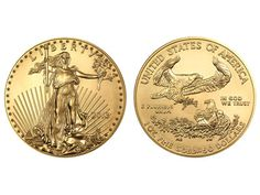 2013 1 Ounce American Eagle fine gold coin. Supplied in BU condition. Physical Bullion Storage Available.