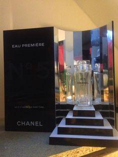 Chanel No 5 AU Premier Factice Presentoir Collectors Dummy Display 14x14x7 Inch | eBay