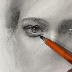 Instagram media by caseybaugh - ➰ #charcoal in progress #art