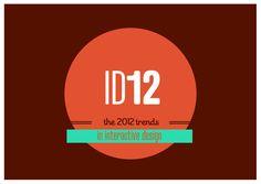 prophets-trendsininteractivedesign2012 by Prophets Agency via Slideshare