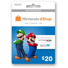 Hey, I'm about to buy this from GiftCardsy.com - an awesome service for delivering digital gift cards by email. Check them out if you want to gift someone quickly or if you need to top-up your own iTunes, Google Play, PSN, Xbox, Nintendo, Steam, etc. Nintendo eShop card   codes by email in a flash!