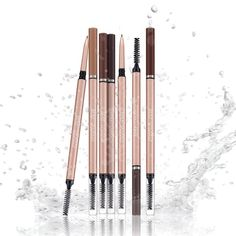 Take your brows from barely there to BOLD! Our new Retractable Brow Pencils were made to last with a special, long-wear formula that is waterproof and stays put without smudging. I Love Makeup, Fall Makeup, Non Toxic Eye Makeup, Eyebrow Pencil, Travel Makeup, How To Apply Makeup, All About Eyes, Makeup Collection, Face And Body