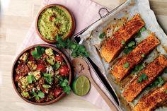 Perulainen lohi kvinoan kera | Santa Maria
