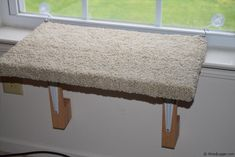 This Window Cat Perch or Cat Window Bed project was cheap, fun, and easy to make. In this video I go over how I made this Cat Perch. If you want more pics Cat Window Perch, Cat Perch, Diy Projects Cans, Easy Diy Projects, House Projects, What Cats Can Eat, Cat Toilet Training, Diy Cat Tree, Cat Shelves
