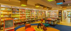 Story also sells things booklovers love. It is the best stationary shop in town with exquisite collection of pens, gift items, bags, craft items etc