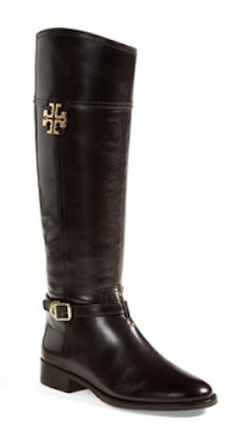 Tory Burch Eloise Riding Boot - BACK IN STOCK!!  Both Coconut and Black!!  All Sizes! http://rstyle.me/n/mjcjznyg6