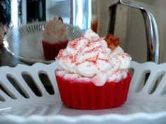 Red Velvet with Toasted Marshmallow Frosting by LilMonkeyBaby, $4.50