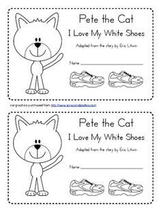 pete the cat rocking in my school shoes writing activity