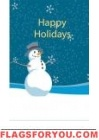 Snowman US Made Garden Flag House Flags, Garden Flags, Happy Holidays, Snowman, Thanksgiving, Disney Princess, Disney Characters, Decor, Happy Holi