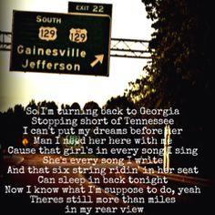 More than Miles- Brantley Gilbert....MY FAVORITE BG SONG!!!