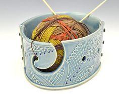 yarn bowl by L on Etsy