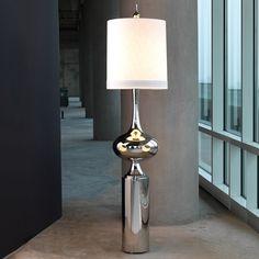 Global Views Extraterrestrial Floor Lamp #zincdoor