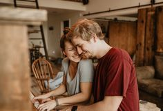 Cute indoor couple session, cozy in home session, Oregon couple photographer, couple photography