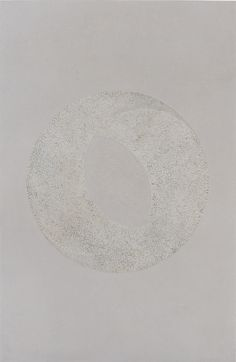 Moon serie - Eye of the Moon. Lacquered painting with eggshells inlays. Size : 60 x 90 cm  www.gcdkdesign.canalblog.com