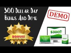 300 Dollar Day Review | 300 Dollar Day Bonus And Demo - YouTube Cloud Based, Make It Yourself, Day, Youtube, Youtubers, Youtube Movies
