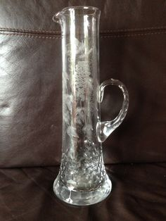 Yeoward Champagne Glass Jug