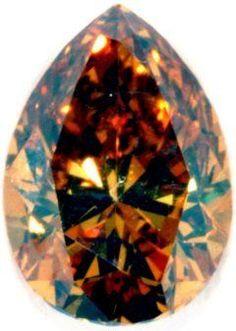 Rare Australian Cognac Diamond / Smithsonian Museum
