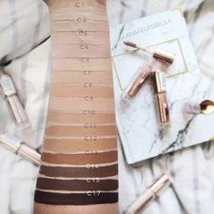 Makeup Revolution corrector of samples. Hide and Defi . - Makeup Revolution corrector of samples. Hide and Defi … - Concealer Tips, Cream Concealer, Best Oval Makeup Brush, Makeup Brush Set, Madurai, Perfect Makeup, Cute Makeup, Becca Cosmetics, Makeup Cosmetics