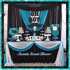 Mustache Baby Shower Baby Shower Party Ideas Baby shower parties