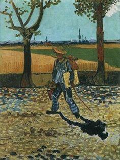 VAN GOGH. El pintor de camino a Tarascon, 1888