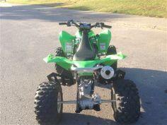 Used Kawasaki 450 Sport Recreational - ATVs - Quads with 1 doors