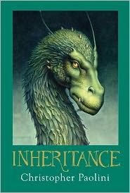 Inheritance... 4th in the Eragon books by Christopher Paolini. Excited!