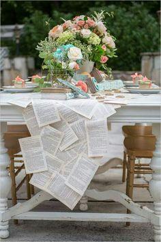 Idée chemin de table... ...