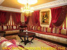 Parfait Salons Et Rideaux Marocain Très Moderne S9 2013
