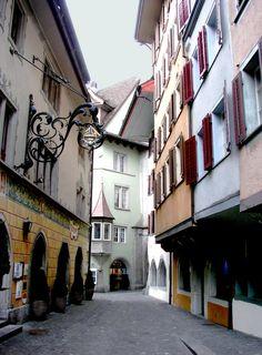 Zug - dans la vieille ville - centre historique