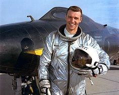 NASA Test Pilot Joe Engle w/ X-15
