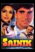 Sainik, a Sikandar Bharti directed film starring Ashwini Bhave and Akshay Kumar.