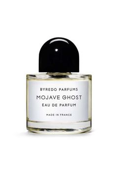 Byredo's latest fragrance, Mojave Ghost, is inspired by a pale, blooming flower called the Ghost that grows despite itself in the Mojave Desert.  An eau de parfum that is simultaneously complex and light, it's gender neutral with a bold, woody theme.