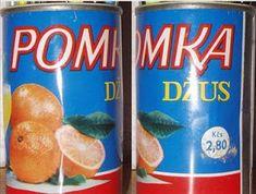 Československý obchod Fanta Can, Drinking Tea, Childhood Memories, Retro, Vintage, Pictures, Historia, Nostalgia, Rustic