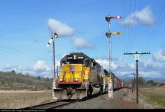 RailPictures.Net Photo: UP 2948 Central Oregon & Pacific Railroad EMD SD40T-2 at Goshen, Oregon by Randy Johnson