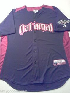 Authentic 2011 MLB All Star Jersey National Mens XL    $35.55 free priority shipping.