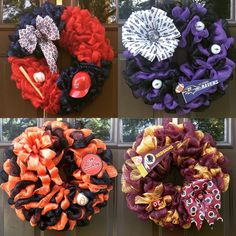 What team are you rooting for this season? The Occasional Wreath has designs that represent your favorite team for any sport. Contact me via my Instagram page, my Facebook page or email me at theoccasionalwreath.kim@gmail.com #theoccasionalwreath #customwreaths #handmadewreaths #wreaths #HTTR #Ravens #Orioles #GoNats