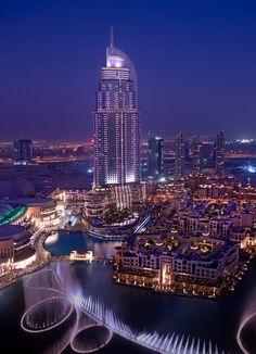 The Dubai Fountain, take that Vegas